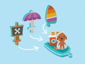 Aqua Puzzles: Boat Builder - Kids Learning Apps | Kids Toys