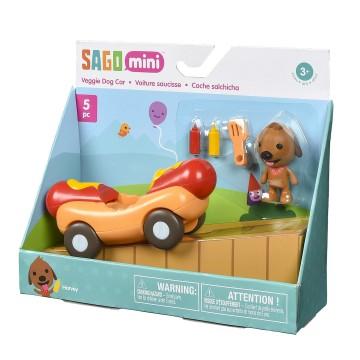 Harvey S Veggie Dog Mobile Vehicle Playset Sago Mini