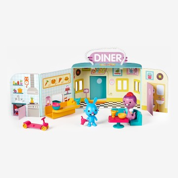 Portable Playset: Jack's Diner
