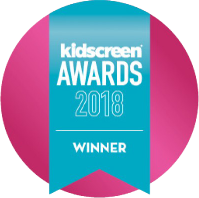 Kidscreen Awards 2018 Winner logo