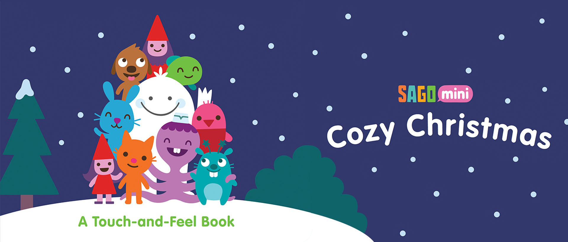 Cozy Christmas: A Touch-and-Feel book