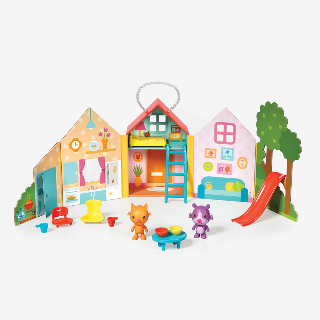 Jinja S House Portable Playset Kids Toys Amp Toddler Toys